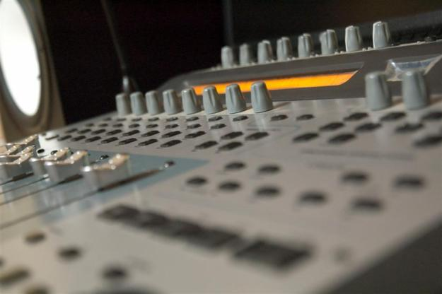 Image of a mixing desk